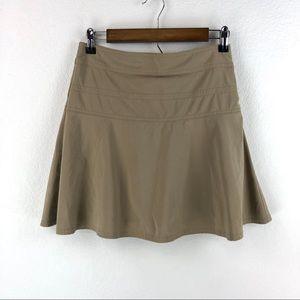 Athleta Hiking Athletic Skirt Skort Size 2